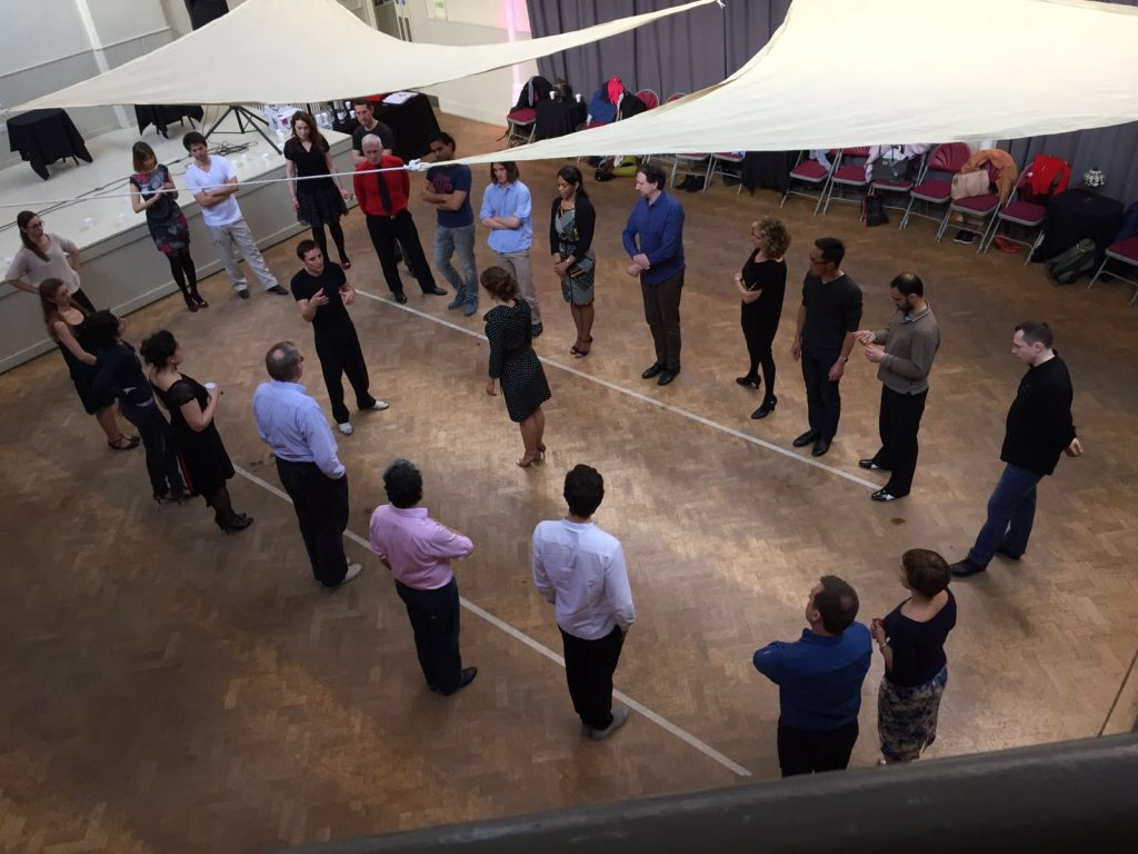 Tango workshop London